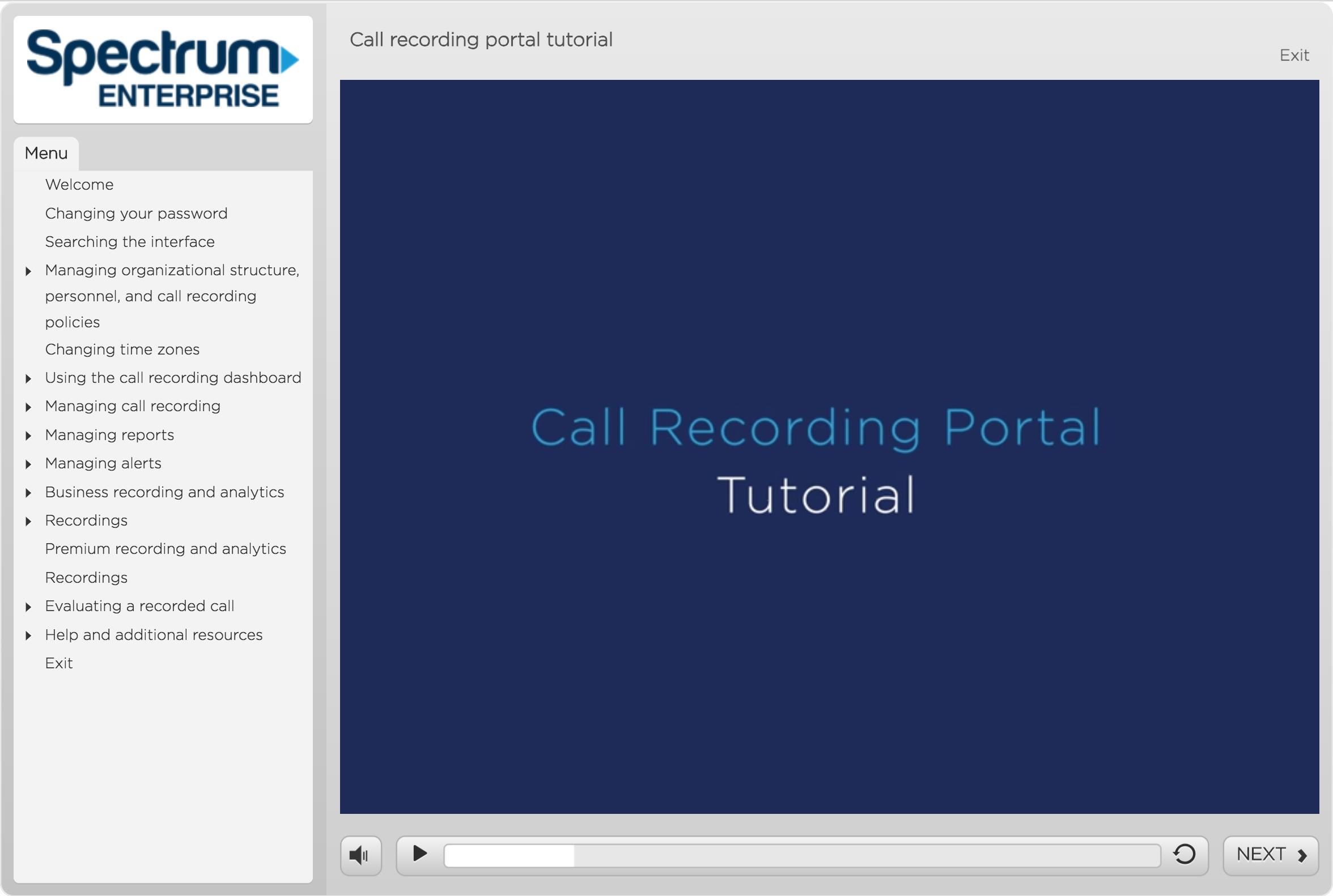 Call Recording Portal Tutorial