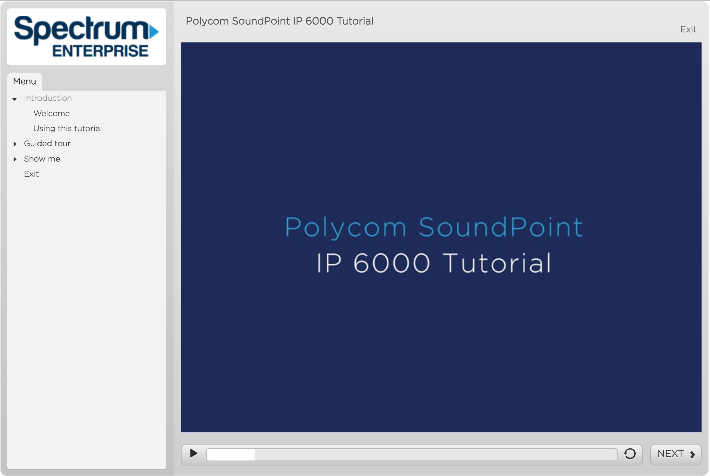 IP 6000 Tutorial